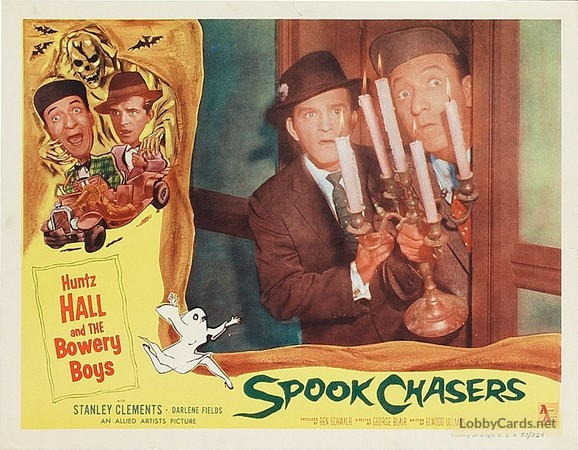 Spook Chasers lobby card  Spook